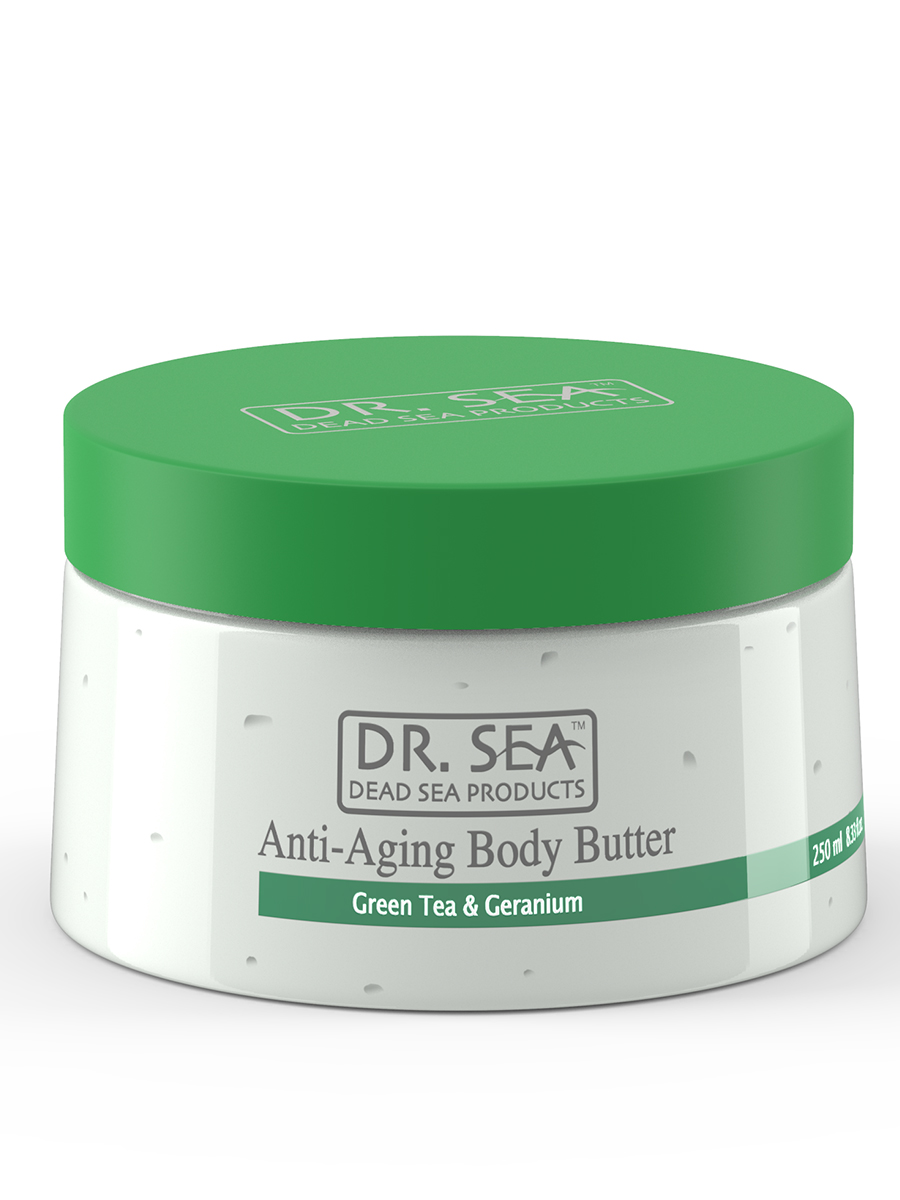 Anti-Aging Body Butter - Green Tea & Geranium